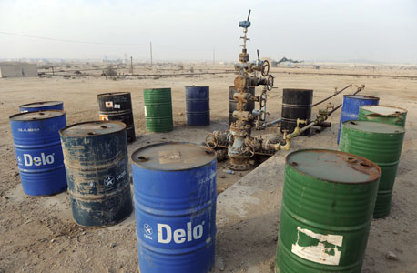 חביות נפט בבחריין