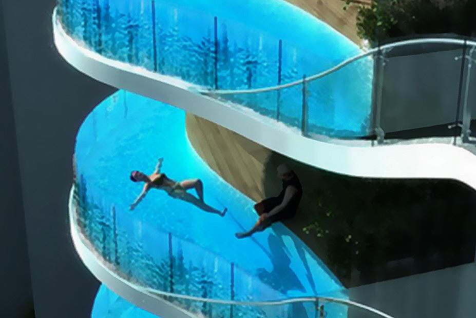 Aquaria grande: balkoni-bazeni na luksuznim tornjevima : lje.