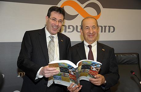 מימין אלדד פרשר ומשה ולדמן