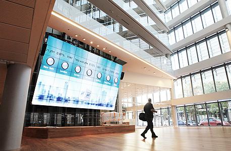 הבניין החדש הבורסה