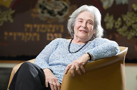 Ruth Arnon. Photo: Orel Cohen