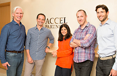 Accel's London team. Photo: Accel