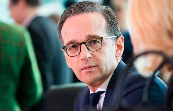 שר החוץ של גרמניה הייקו מאאס