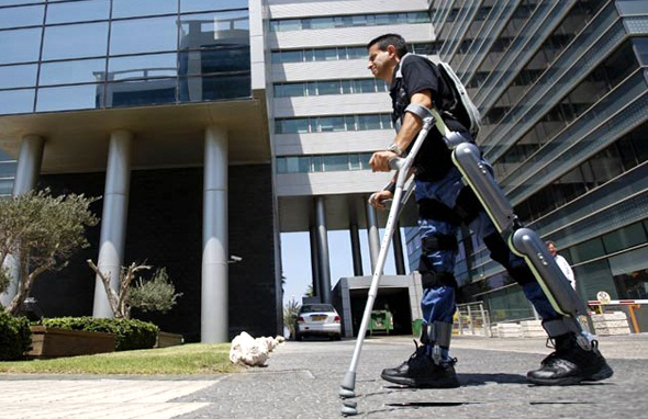 A ReWalk Robotics device. Photo: Reuters