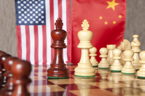 The U.S. and China are in a game of chess over the battle for 5G dominance. Photo: Getty