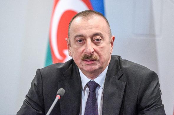 נשיא אזרבייג'ן אילהם אלייב