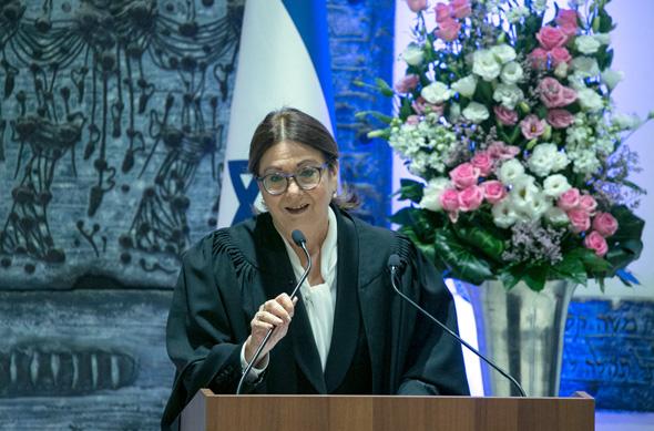 אסתר חיות, נשיאת בית המשפט העליון