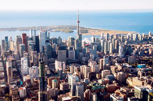 Toronto, Canada. Photo: Bloomberg