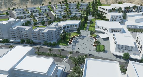 הדמיה: שכונת מגורים חדשה באילת