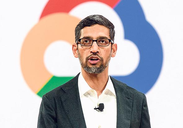 "מנכ""ל גוגל סונדאר פיצ'אי"