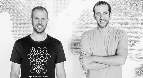 תומר לוי ואסף יגאל, מייסדי logz.io