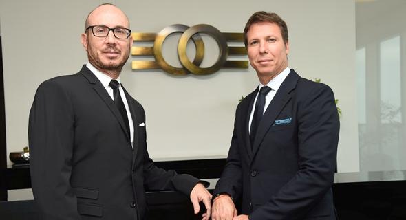 מימין: מייקי ודני זלקינד, בעלי השליטה בקבוצת אלקו