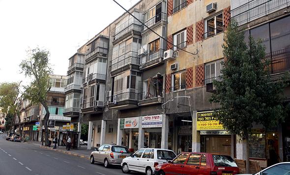 רחוב אבן גבירול בתל אביב. חשש שפרויקטים רבים ייתקעו בצנרת