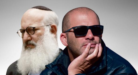 """צחי נחמיאס ואדוארדו אלשטיין, המתחרים על דסק""""ש"""
