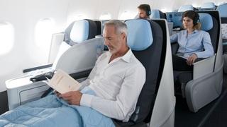 חברת תעופה LA COMPAGNIE לה קומפני מחלקת עסקים, צילום: LA COMPAGNIE